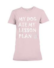 My Dog Ate My Lesson Plan T-Shirts Premium Fit Ladies Tee thumbnail