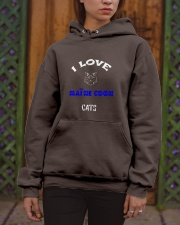 I LOVE MAINE COON CATS Hooded Sweatshirt apparel-hooded-sweatshirt-lifestyle-front-03