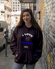 I LOVE MAINE COON CATS Hooded Sweatshirt lifestyle-unisex-hoodie-front-1
