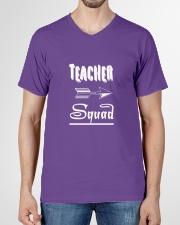 Teacher Squad V-Neck T-Shirt garment-vneck-tshirt-front-01
