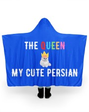 """MY CUTE PERSIAN 70"""" x 60"""" Hooded Blanket front"""