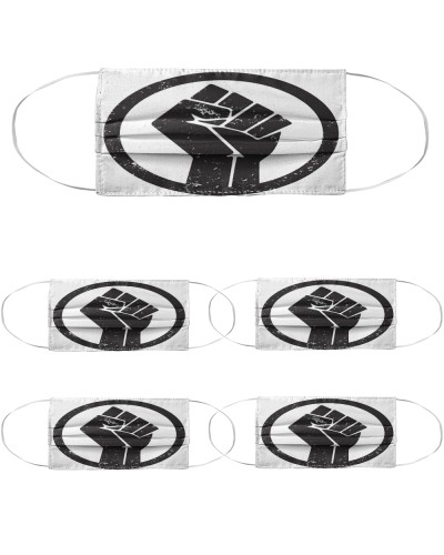 BLM Raised Fist Safety Mask
