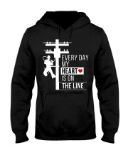 lineman8 Hooded Sweatshirt thumbnail