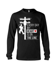lineman8 Long Sleeve Tee thumbnail