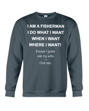 I AM A FISHERMAN Crewneck Sweatshirt thumbnail