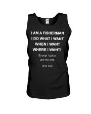 I AM A FISHERMAN Unisex Tank thumbnail