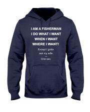 I AM A FISHERMAN Hooded Sweatshirt thumbnail