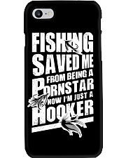 FISHING SAVED ME Phone Case tile