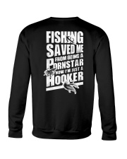 FISHING SAVED ME Crewneck Sweatshirt thumbnail