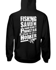 FISHING SAVED ME Hooded Sweatshirt tile