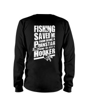 FISHING SAVED ME Long Sleeve Tee tile