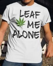 Leaf Me Alone Classic T-Shirt apparel-classic-tshirt-lifestyle-28