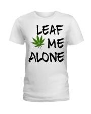 Leaf Me Alone Ladies T-Shirt thumbnail