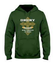DRURY Hooded Sweatshirt front