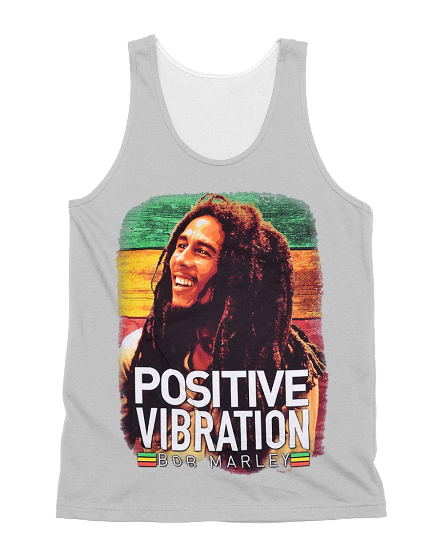 bob Marley All-over Unisex Tank