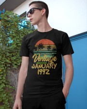 Vintage January 1992 Classic T-Shirt apparel-classic-tshirt-lifestyle-17
