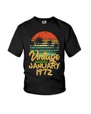 Vintage January 1972 Youth T-Shirt thumbnail