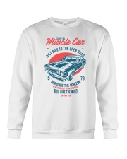 Muscle Car Crewneck Sweatshirt thumbnail