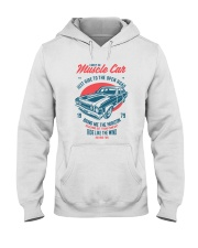 Muscle Car Hooded Sweatshirt thumbnail