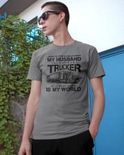 LIMITED EDITION HUSBAND TRUCKER Classic T-Shirt apparel-classic-tshirt-lifestyle-17