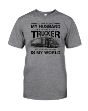 LIMITED EDITION HUSBAND TRUCKER Classic T-Shirt front