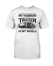 LIMITED EDITION HUSBAND TRUCKER Classic T-Shirt thumbnail