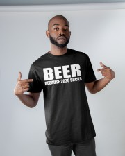 because 2020 sucks Classic T-Shirt apparel-classic-tshirt-lifestyle-front-32