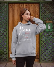 YOUR FIRST LOVE SHOULD BE YOURSELF Hooded Sweatshirt apparel-hooded-sweatshirt-lifestyle-02