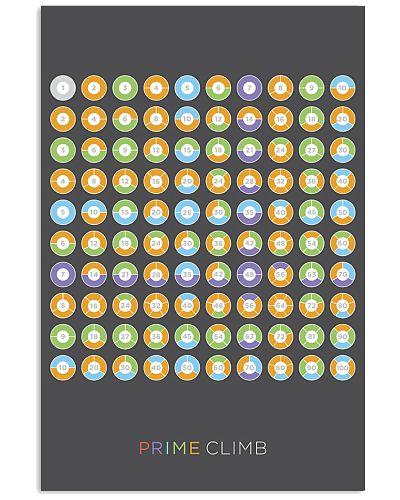Prime Climb Multiplication Table