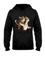 Cat Titanic 01 Hooded Sweatshirt front