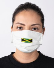 jamaican style  Cloth face mask aos-face-mask-lifestyle-01