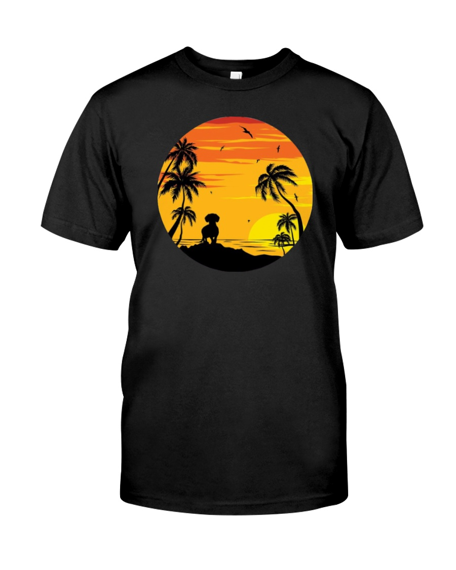 Dachshund Lover Shirt Slim Fit T-Shirt Classic T-Shirt