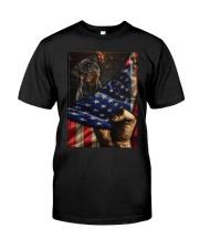 Rottweiler  Classic T-shirt Classic T-Shirt thumbnail