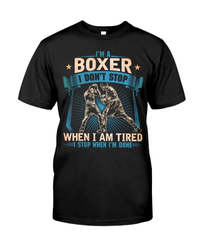 I'm A Boxer Don't Stop