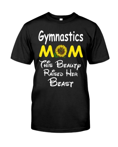 Sunflower Gymnastics Mom Beauty