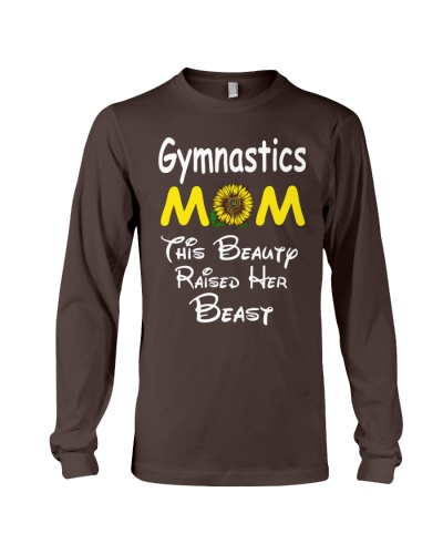 Sunflower Gymnastics Mom Beauty