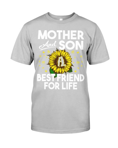 Mother And Son Best Friend For Life Sunflower