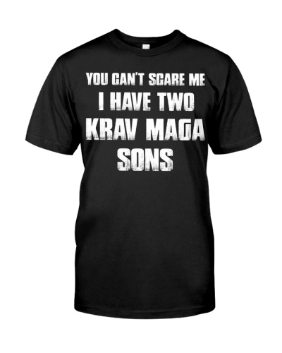 I Have Two Krav Maga Sons