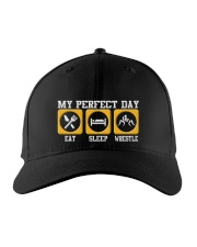 Wrestling My Perfect Day Embroidered Hat front