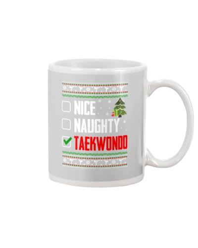 Taekwondo Ugly Christmas