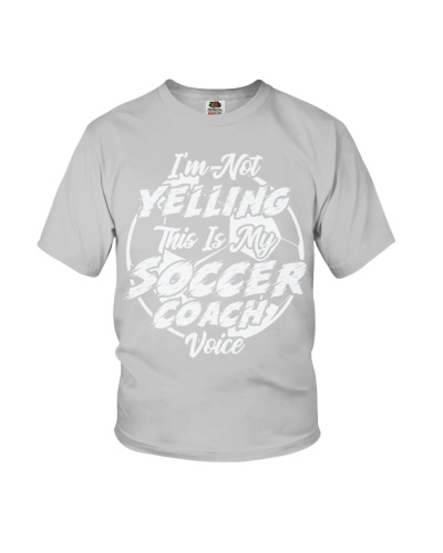 This Is My Soccer Coach Voice