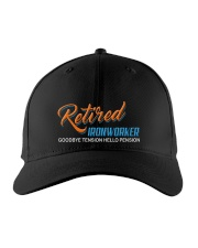Retired Ironworker Hello Pension Embroidered Hat front