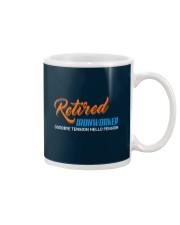 Retired Ironworker Hello Pension Mug thumbnail
