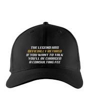 Legend Officially Retired Embroidered Hat front