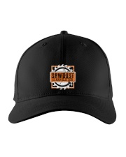 Sawdust Is Man Glitter Woodworking Or Carpenter Embroidered Hat front