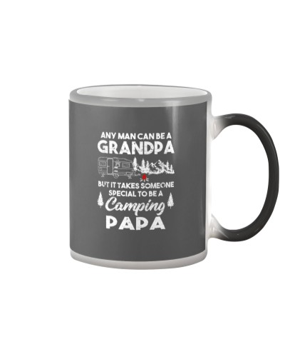 Grandpa Camp Lover Proud Camping Papa