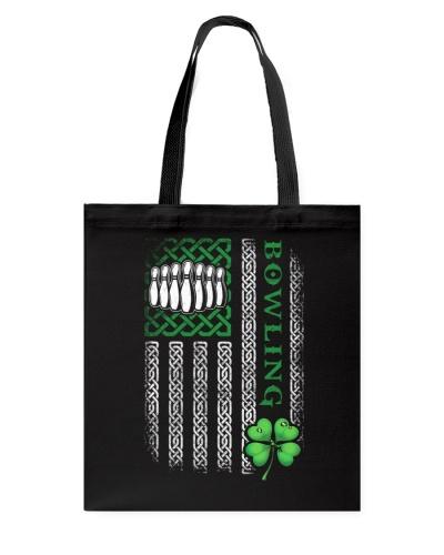 Bowling Irish American Flag