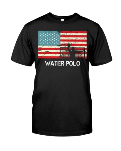 United States Of America Flag Water Polo