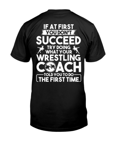Wrestling Coach Succeed