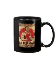 Old Man Knows Wrestling Mug thumbnail